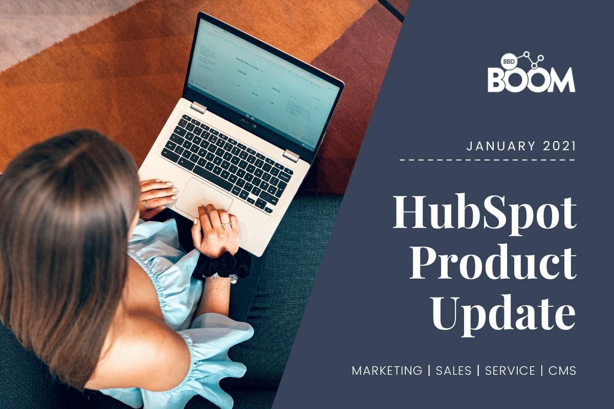 Jan Product Update HubSpot