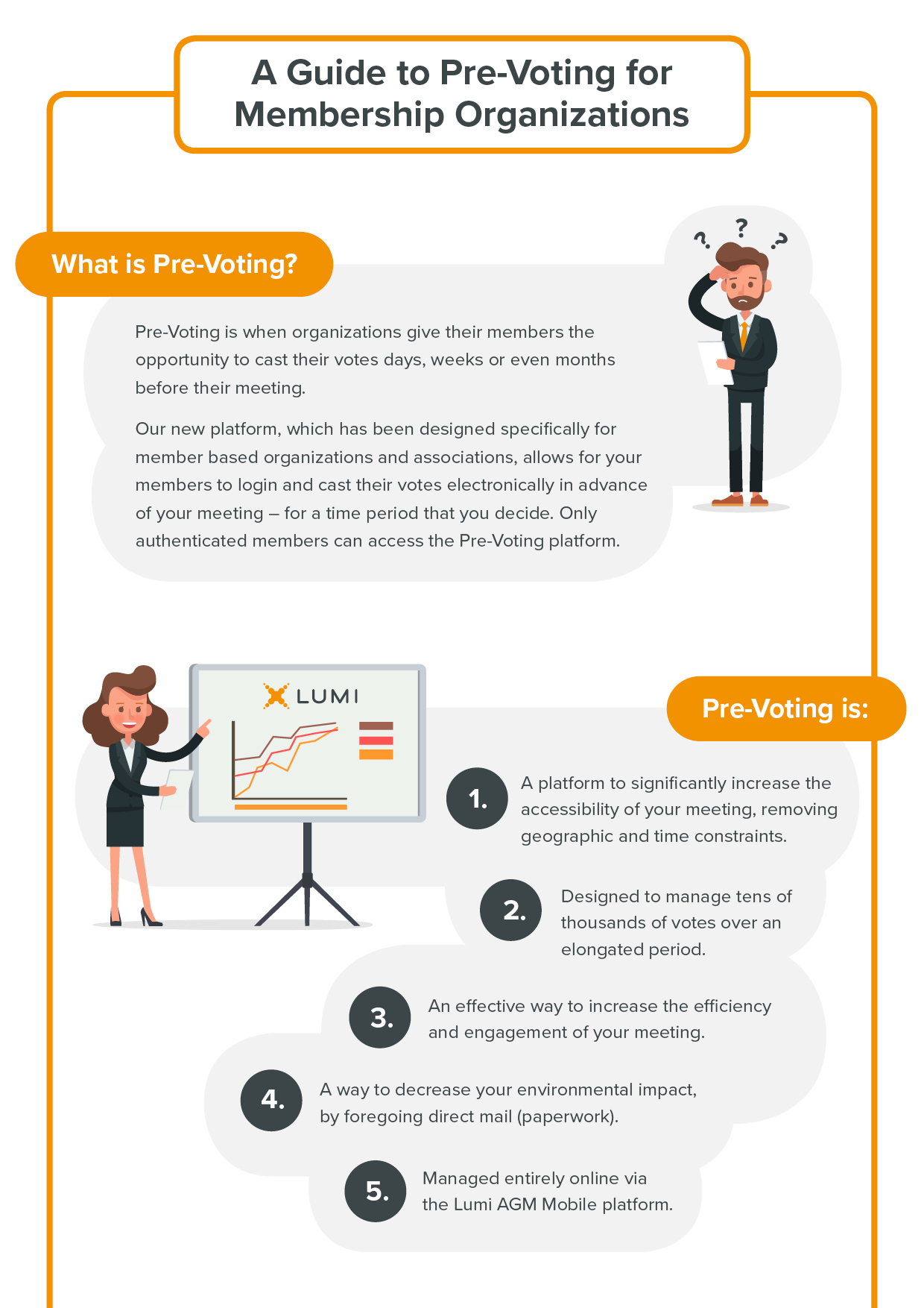 Lumi Pre Vote Platform Infographic