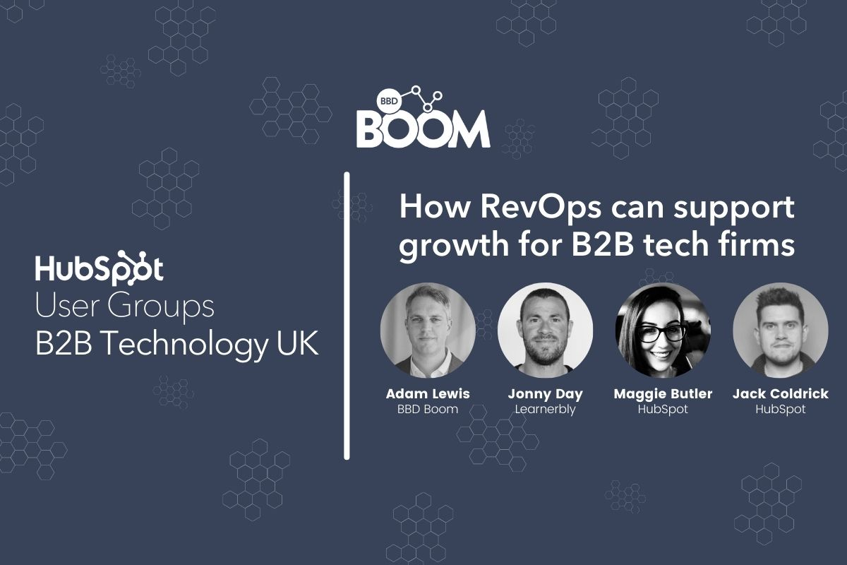 BBD Boom Inbound Resources B2B Technology UK HubSpot Resources Group