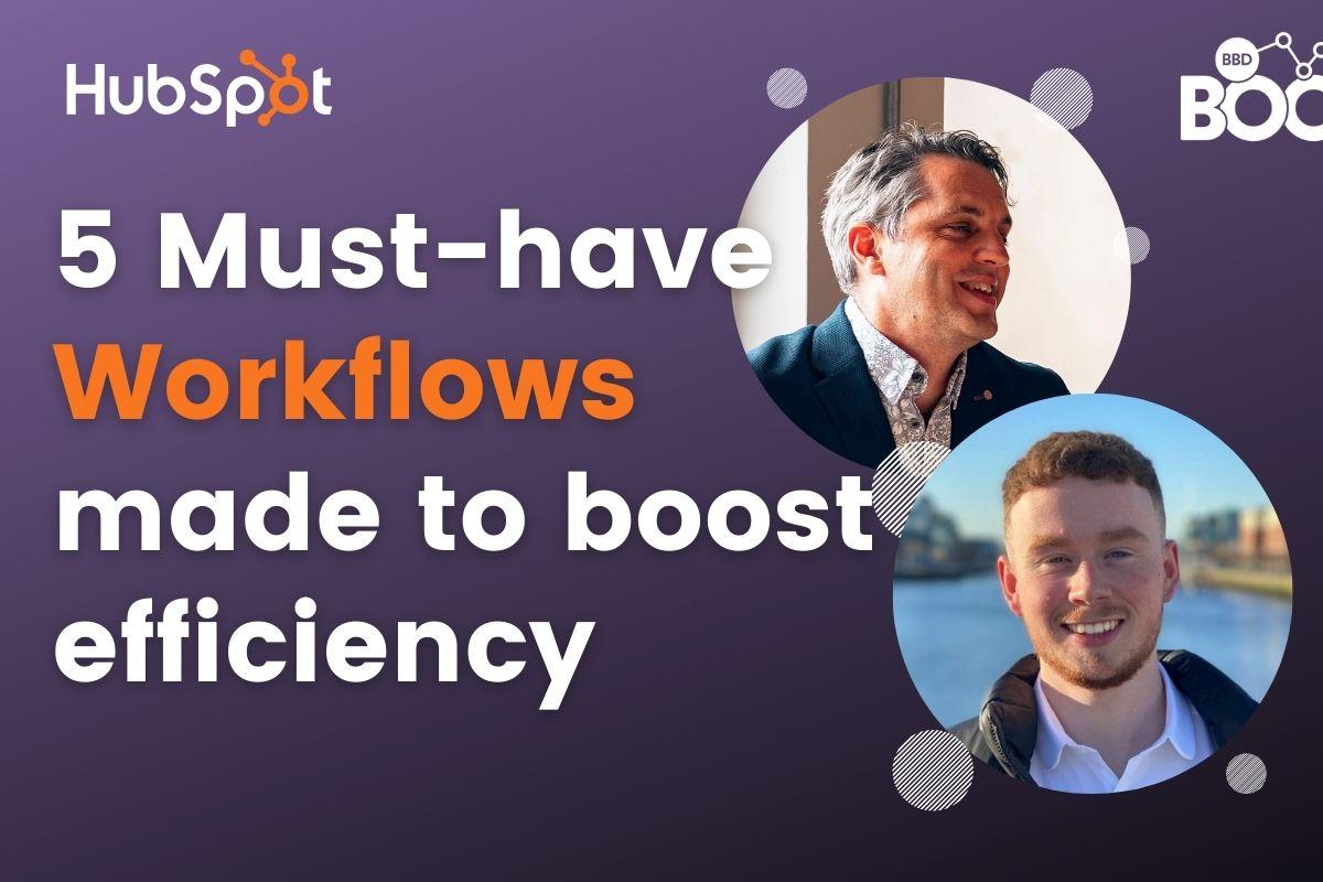 HubSpot Workflow Webinar