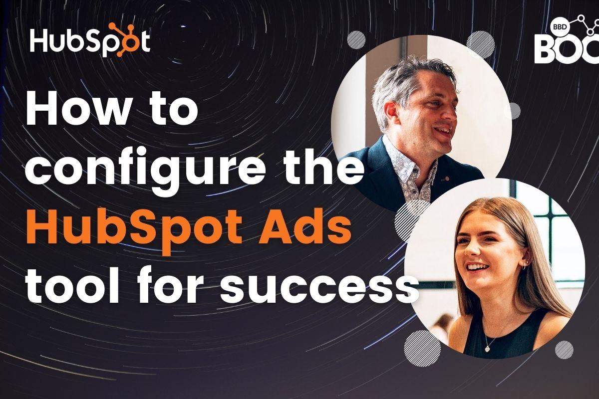 Configure HubSpot Ads tool
